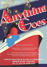 Anything Goes - Senior Music Theatre @ Curtin Theatre