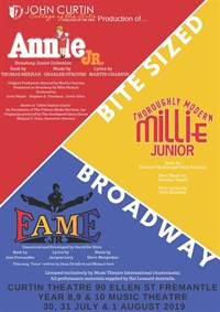 Bite Sized Broadway - Years 8 to 10 Music Theatre @ Curtin Theatre
