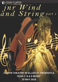 Junior Wind and Strings - Music Performance @ Curtin Theatre
