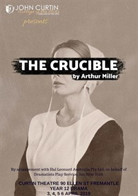The Crucible - Year 12 Drama @ Curtin Theatre
