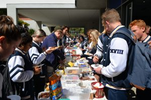Year 12 Morning Tea @ Year 12 student area